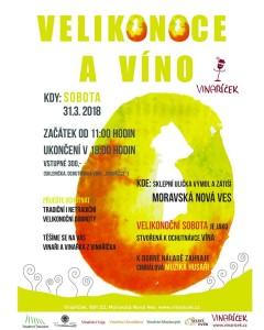 Velikonoce a víno