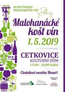 Malohanácké košt vín - Cetkovice (1.5.)